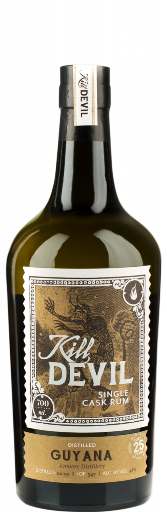 Bottle of Kill Devil Single Cask Rum